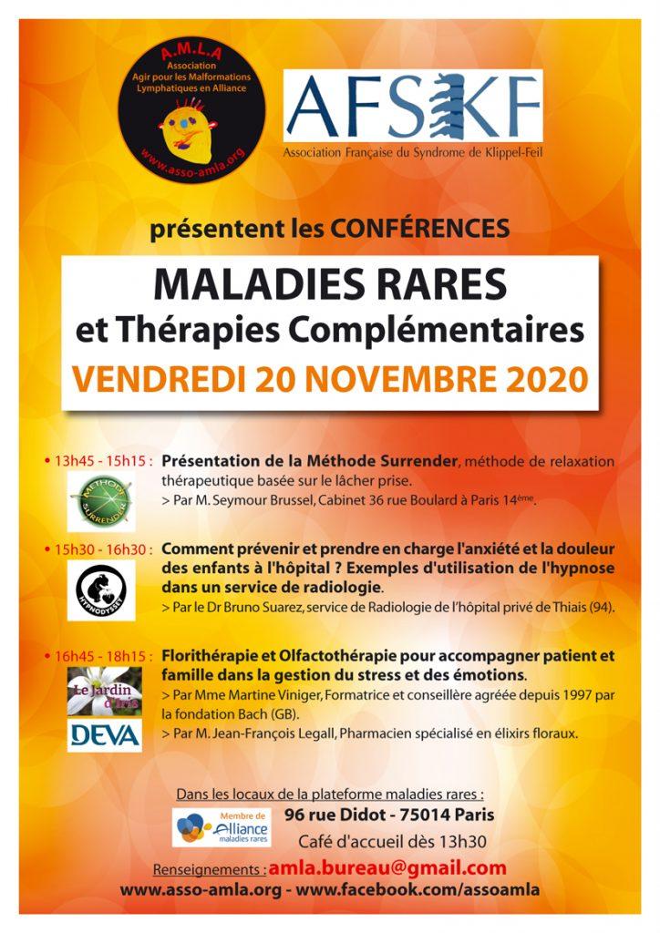 Affiche thérapies complementaires